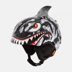 Giro LAUNCH PLUS Black/Grey Tiger Shark Helmet