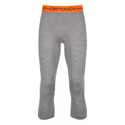 Pantalon 3/4 Ortovox 185 ROCK'N'WOOL Grey Blend