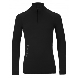 Ortovox Sweater 230 COMPETITION ZIP NECK Black Raven