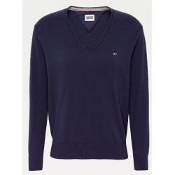 Tommy Hilfiger TJW SOFT TOUCH V-NEC Twilight Navy Sweater