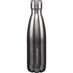 Isothermal bottle NATHAN CHROMA Ombre-Silver/Charcoal