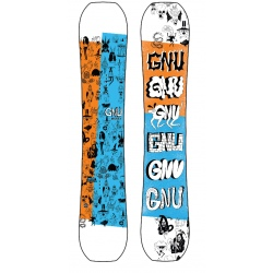 Snowboard GNU MONEY
