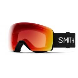 Goggles Smith SKYLINE XL Black ChromaPop Photochromic Red Mirror