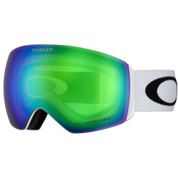 Goggles Oakley FLIGHT DECK Matte White / Prizm Snow Jade Iridium