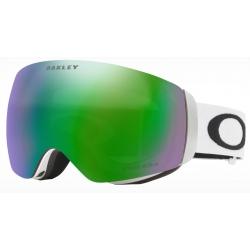 Goggles Oakley FLIGHT DECK XM Matte White / Prizm Snow Jade Iridium