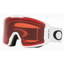 Goggles Oakley LINE MINER XM Matte White / Prizm Snow Rose