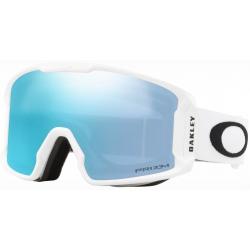 Goggles Oakley LINE MINER XM Matte White / Prizm Snow Sapphire Iridium