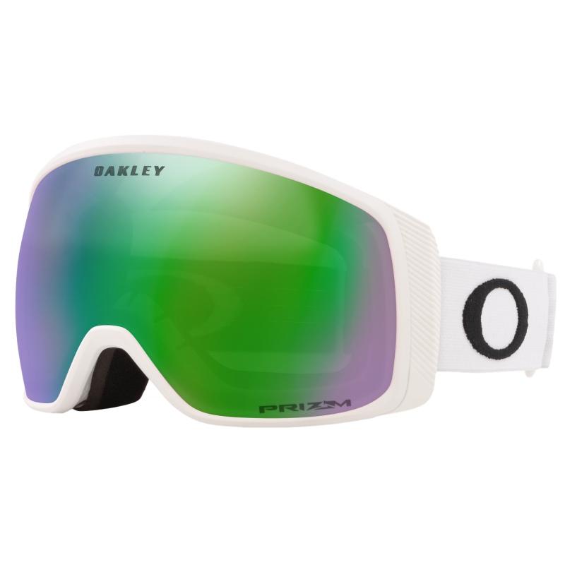 Goggles Oakley FLIGHT TRACKER XM Matte Matte White / Prizm Snow Jade Iridium