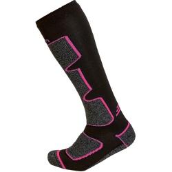 Cairn SPIRIT TECH Black Fuschia Socks