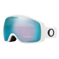 Masque Oakley FLIGHT TRACKER XM Matte White / Prizm Snow Sapphire Iridium