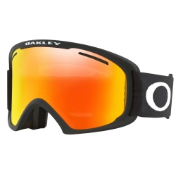 Masque Oakley O-FRAME 2.0 PRO XL Matte Black / Fire Iridium & Persimmon