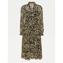 Tommy Floral Print Shirt Dress