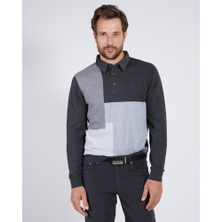 Mise au Green Unique polo neck sweater