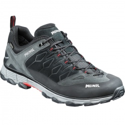 Meindl LITE TRAIL GTX Anthracite/Red shoes