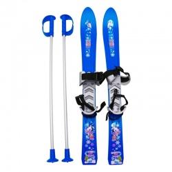 Pack Frendo BABY SKI + poles Blue