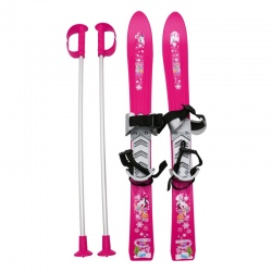 Pack Frendo BABY SKI + poles Pink