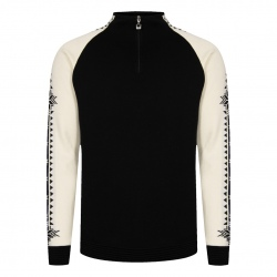 Pull Dale of Norway GEILO Black Offwhite