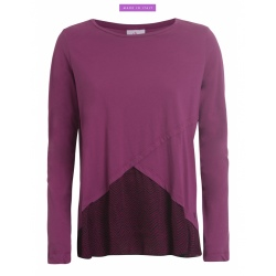 T-shirt ML Deha TRIM Wild Orchid Purple