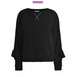 Sweatshirt Deha LUREX Black