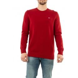Tommy ESSENTIAL Deep Crimson Sweater