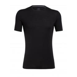 T-shirt Icebreaker MENS ANATOMICA Black
