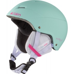 Casque Cairn ANDROID J Turquoise Neon Pink