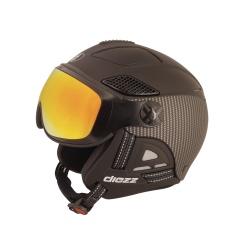 Helmet Diezz LOUNA II VENTURY Carbon Black