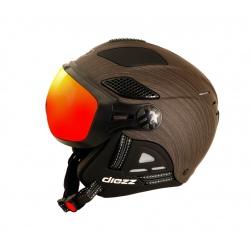 Helmet Diezz LOUNA II VENTURY Wood Black