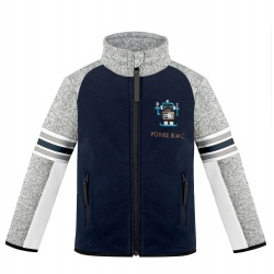 Fleece Jacket Poivre Blanc Multico Gothic Blue