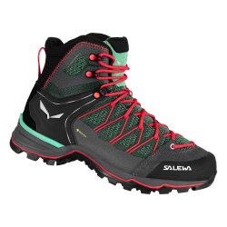 Salewa WS MTN TRAINER LITE MID Feld Green/Fluo Coral Shoes