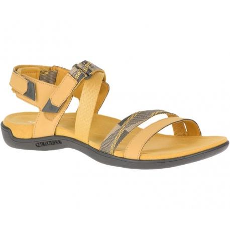 Sandals Merrell DISTRICT MENDI BACKSTRAP Gold