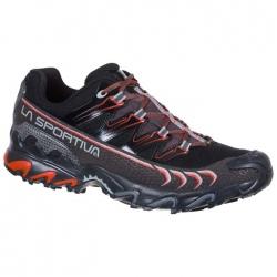 La Sportiva ULTRA RAPTOR GTX Black/Poppy Trail Shoes