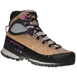 La Sportiva TX5 GTX Woman Taupe/Purple Hiking Shoes