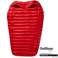 Sac de couchage Pajak QUEST 4TWO Red