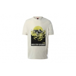 T-shirt The North Face NATURAL WONDERS Vintage White