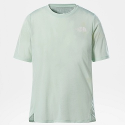 T-shirt The North Face UP WITH THE SUN Misty Jade