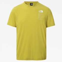 T-shirt The North Face GLACIER Lemongrass Green