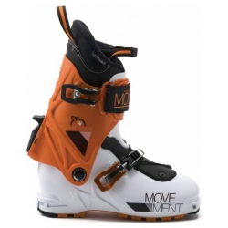 Chaussures de ski Movement EXPLORER JUNIOR White/Grey/Orange