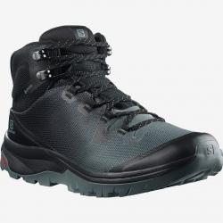 Salomon VAYA MID GTX Stormy Weather/Black/Trooper Hiking Shoes