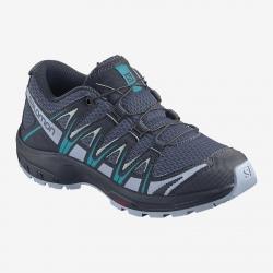 Salomon XA PRO 3D J Blue Indigo/Kentucky blue hiking shoes
