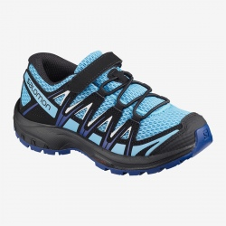 Salomon XA PRO 3D K Ethereal Blue/Surf the web/White hiking shoes