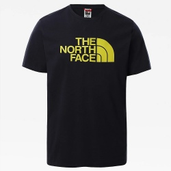 T-shirt The North Face EASY Aviator Navy/Citronelle Green