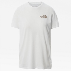 T-shirt The North Face FOUNDATION GRAPHIC TNF White