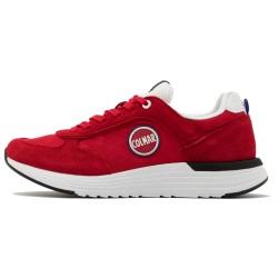 Chaussures Colmar TRAVIS X1 BOLD Red / White