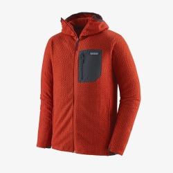 Veste Patagonia R1® AIR FULL ZIP Hot Ember