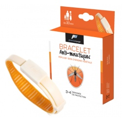 Pharmavoyage anti-mosquitoes bracelet Orange