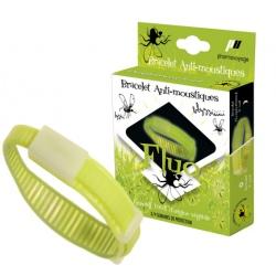 Pharmavoyage anti-mosquitoes bracelet Kaki