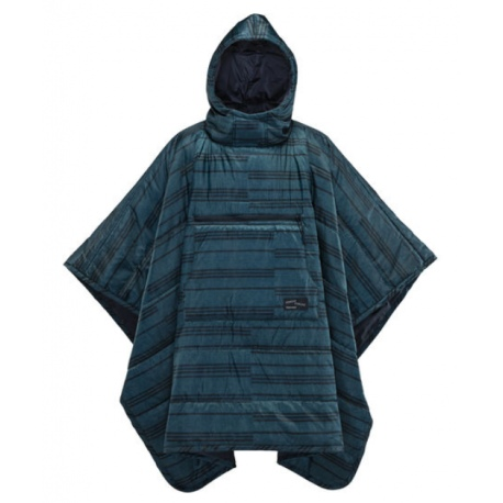 Thermarest HONCHO PONCHO Wearing Blanket Blue print