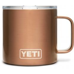 Mug Yeti Rambler 14 Oz Copper