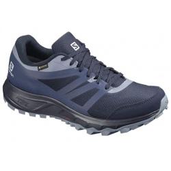 Chaussures de trail Salomon TRAILSTER 2 GTX W Navy Blazer/Sargasso Sea/Flint Stone